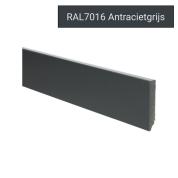 MDF Moderne plint voorgelakt RAL 7016