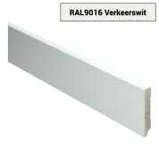 MDF Moderne plint voorgelakt RAL 9016