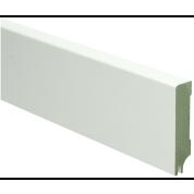 MDF Moderne plint gelakt met uitsparing. RAL 9010