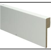 MDF Renovatieplint modern voorgelakt RAL 9010