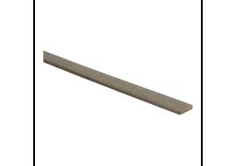 Afwerklijst 5 mm x 24 mm plakstrip fineer eiken dubbel gerookt wit geolied
