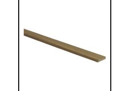 Afwerklijst 5 mm x 24 mm plakstrip fineer eiken gerookt naturel geolied