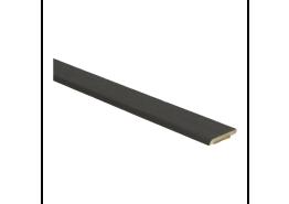 Afwerklijst 5 mm x 24 mm plakstrip fineer eiken kern gerookt geolied