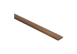 Afwerklijst 5x23 mm mahonie