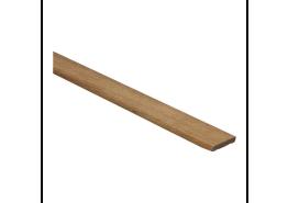 Afwerklijst 6x28 mm afzelia