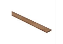Afwerklijst 6x28 mm jatoba