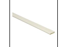 Afwerklijst met plakstrip ahorn wit