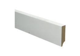 BL MDF plint 70x18 V313 wit gegrond recht