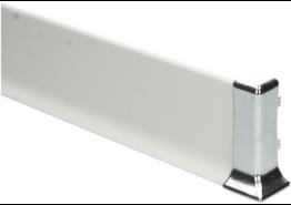 Elegante buitenhoek  geborsteld hoogglans 60 mm