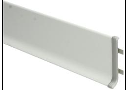 Elegante koppelstuk aluminium