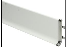 Elegante Koppelstuk RVS hoogglans 60 mm