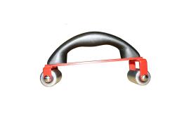Handaandrukroller voor PVC met 2 rollers