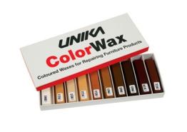 Hardwaxset 10 kleuren - bruintinten