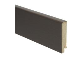 Moderne plint 80x18 edelfineer kurk gelakt