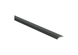 Overgangsprof. zelfkl. 5 mm alu zwart