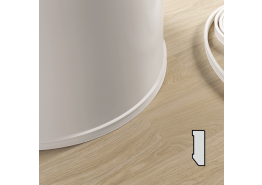 QS flex schilderplint 40x14 mm - PVC (rol à 7mtr)