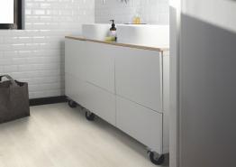 Quick-Step PVC - Pulse Click Zeebries eik licht