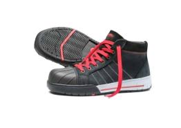 Werkschoen hoog BICKZ 733 zwart nubuck