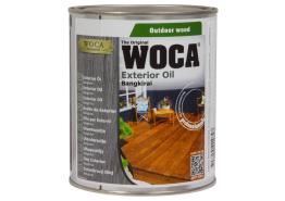 WOCA Exterior Oil Bangkirai 0,75 L