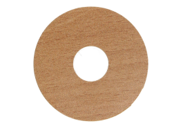 Zelfkl. rozet (17 mm) beuken gestoomd (10 st.)