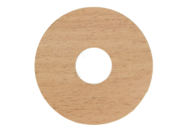 Zelfkl. rozet (17 mm) beuken select (10 st.)