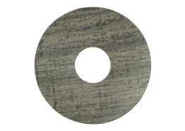 Zelfkl. rozet (17 mm) country eik grijs (10 st.)
