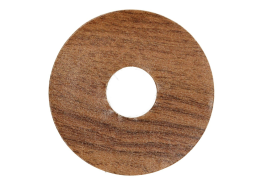 Zelfklevende rozet (17 mm) eiken antiek (10 st.)