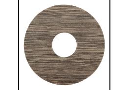 Zelfkl. rozet (17 mm) eiken grijs gerookt (10 st.)