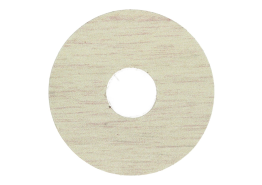 Zelfkl. rozet (17 mm) eiken polar (10 st.)