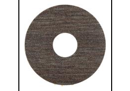 Zelfkl. rozet (17 mm) fr. eik grijsvernist (10 st)
