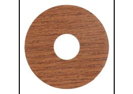 Zelfkl. rozet (17 mm) kersen (10 st.)