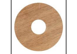 Zelfkl. rozet (17 mm) kersen select (10 st.)