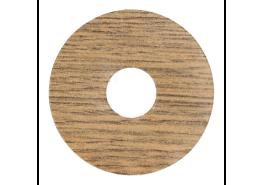 Zelfkl. rozet (17 mm) oud kastanje (10 st.)