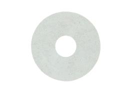 Zelfklevende rozet (17 mm) beton wit