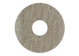 Zelfklevende rozet (17 mm) bosland eik bruin (10 st.)