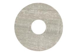 Zelfklevende rozet (17 mm) eik grijs met zaags (10 st.)