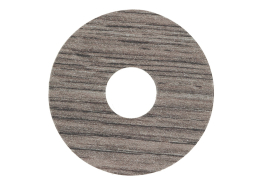 Zelfklevende rozet (17 mm) eiken zilvergrijs (10 st.)