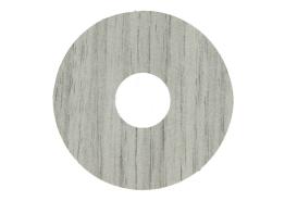 Zelfklevende rozet (17 mm) newcastle eiken grijs 10 st.