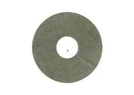 Zelfklevende rozet (17mm) beton gepol. koper (10 st.)