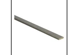 Afwerklijst met plakstrip titanium eik
