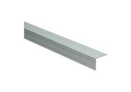Duo-hoeklijnprofiel zelfkl. 24,5 x 30 mm zilver