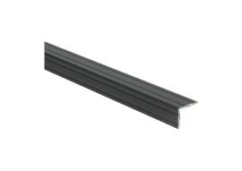Duo-hoeklijnprofiel zelfkl. 24,5 x 30 mm zwart