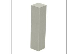 Hoek/eindstuk folie 4st. beton gepolijst natuur
