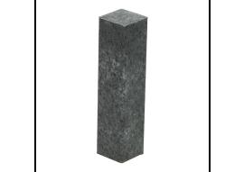 Hoek/eindstuk folie 4st. metallic slate