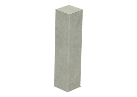 Hoek/eindstuk folie 4st. Valley Stone light grey