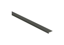 Hoeklijnprofiel zelfkl. 4 mm tbv PVC klik brons