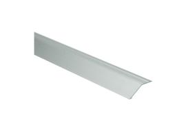 Overgangsprof. zelfkl. 14 mm alu zilver