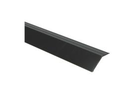 Overgangsprof. zelfkl. 22 mm alu zwart