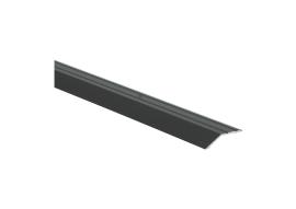 Overgangsprof. zelfkl. 8 mm alu zwart