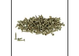 Schroeven voor alu prof. goud 3x16 - 250 st.